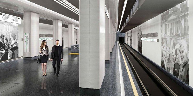 Вестибюль в метро