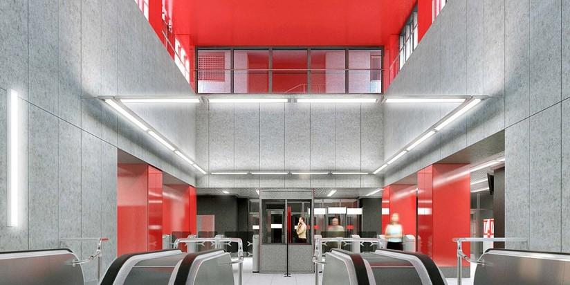 Современный дизайн станции