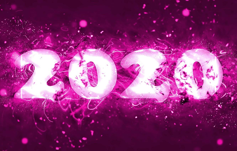 Новогодние обои на рабочий стол 2020