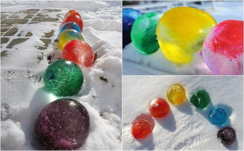 Новый год 2020 декор из льда