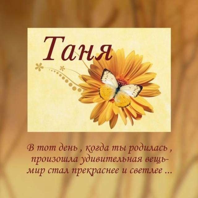 Смешные стихи про Таню Шмяндекс