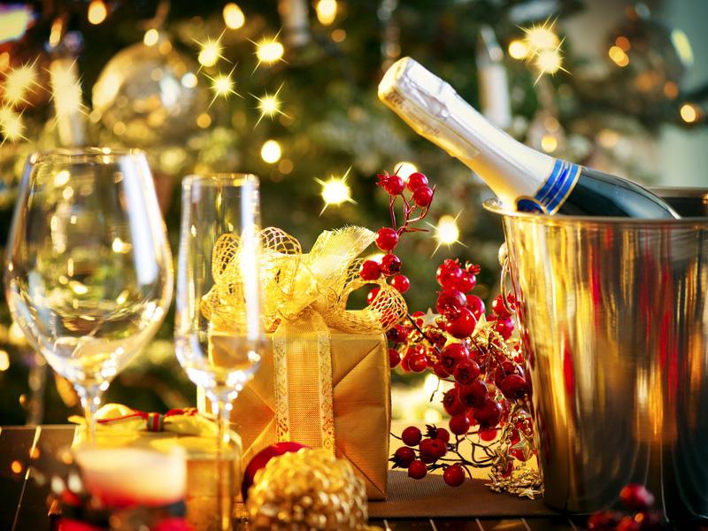 Новый год 2020 алкогольные напитки
