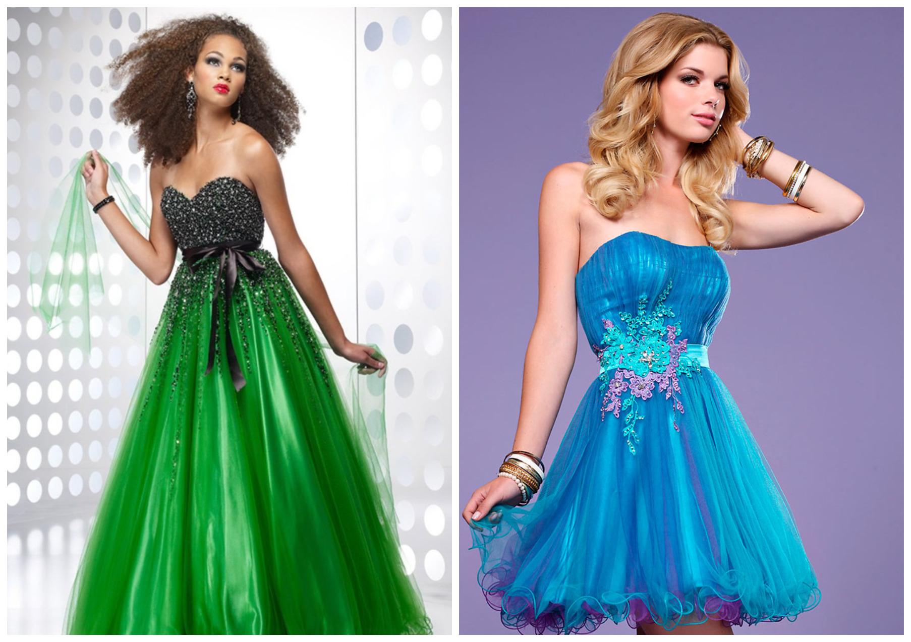 платья для девушек-водолеев