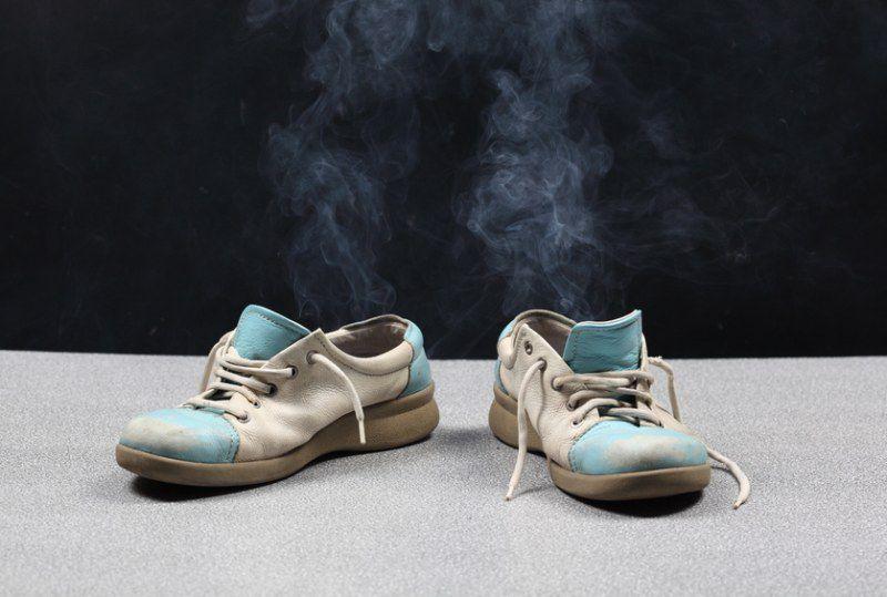 Запах пота в обуви