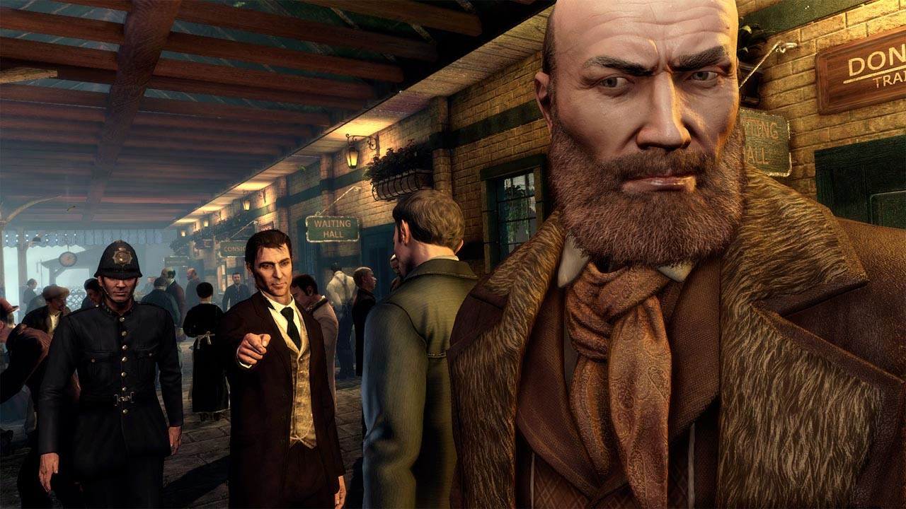 Игра Sherlock Holmes: Crimes and Punishments