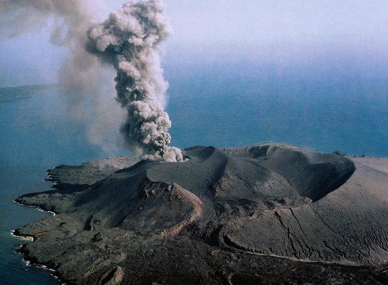 Извержение Кракатау