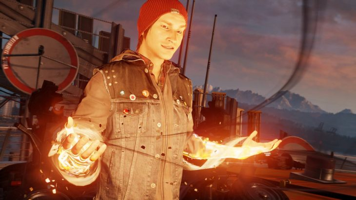 Графика Infamous: Second Son