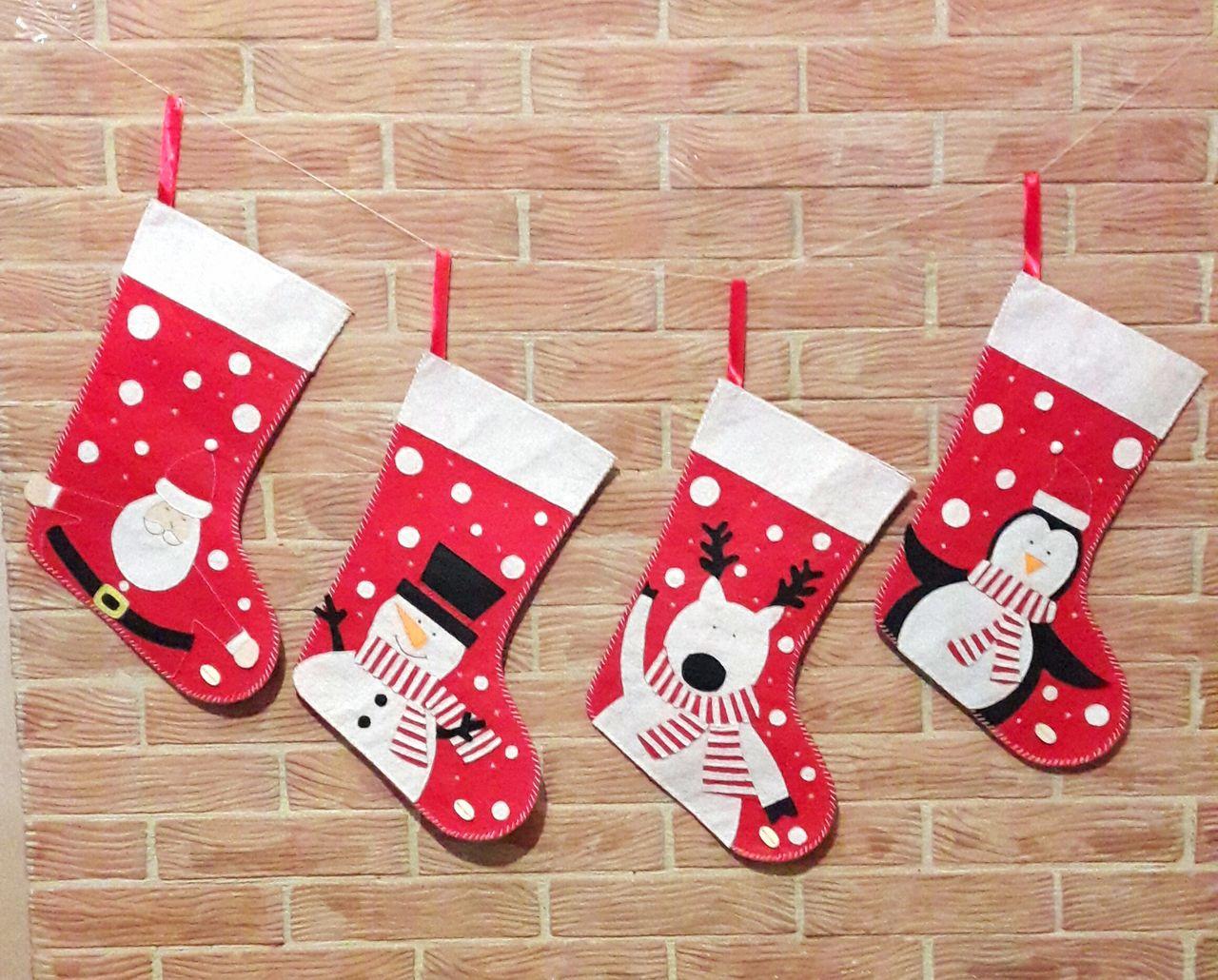 Рождественские носочки (украшение)