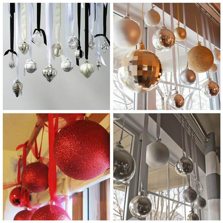 Новогодние шары для магазина