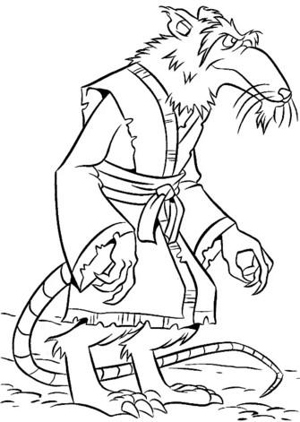 Крыса сплинтер для вырезания из бумаги