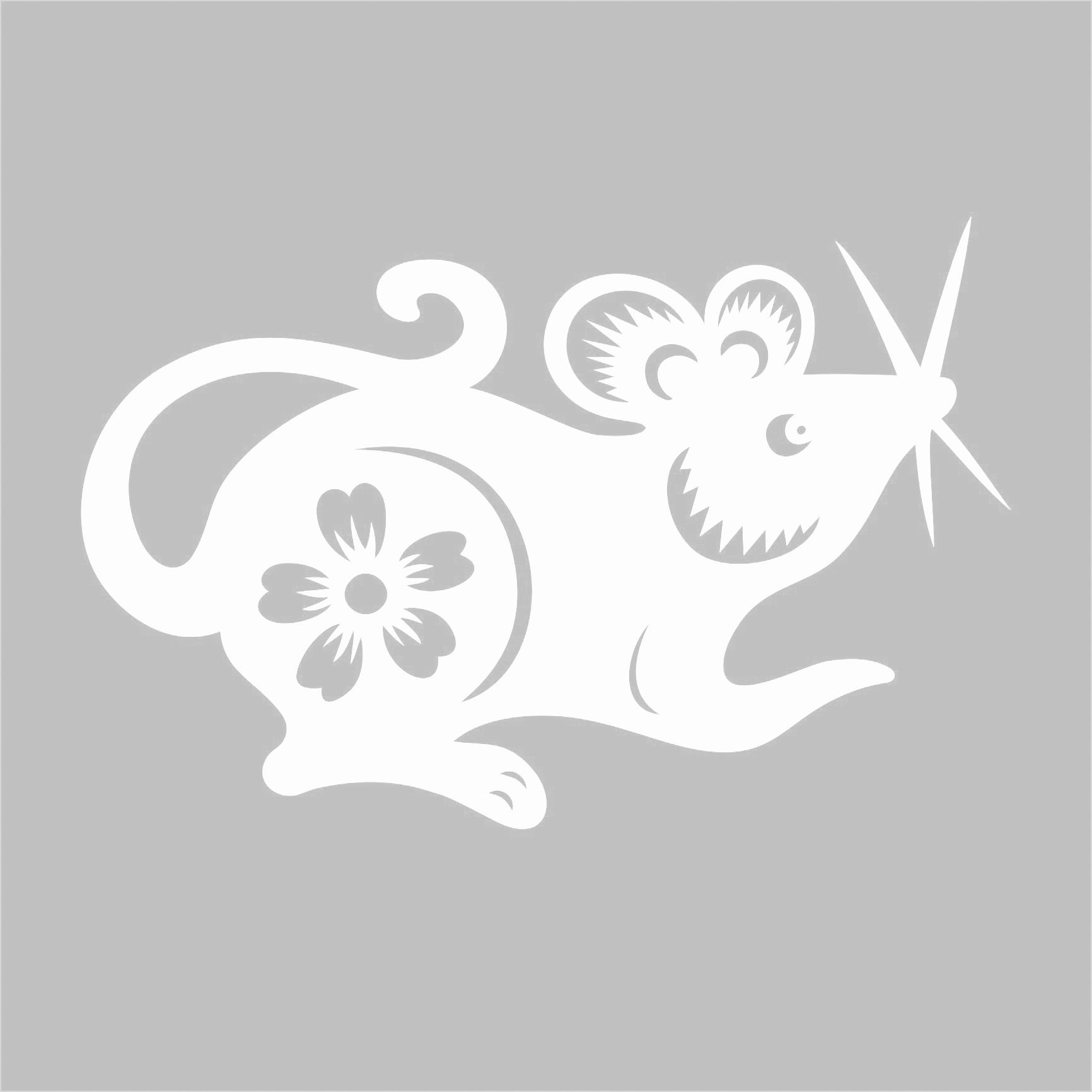 Крыса для вырезания