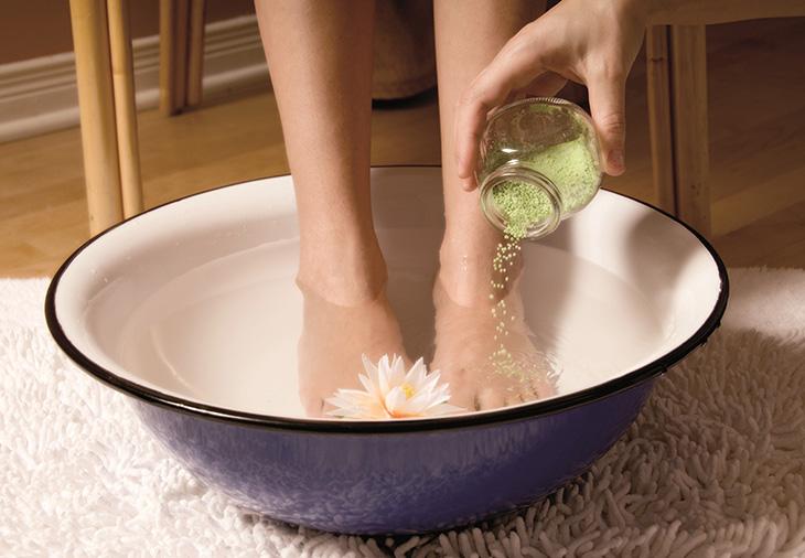 ванночки против запаха ног