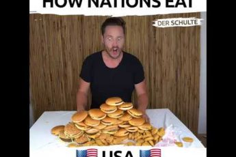 Видеоролик «Как едят в разных странах» разъярил турок и россиян