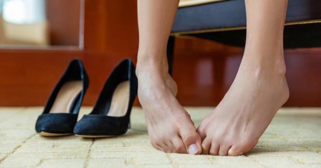 Как сделать чтобы ноги не горели 137